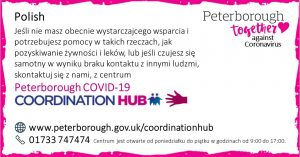 Polish COVID19 Co-ordination Hub Message