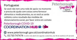Portuguese Peterborough Coordination Hub