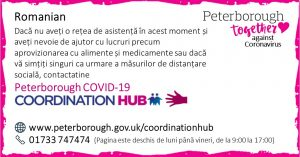 Romanian COVID19 Co-ordination Hub Message